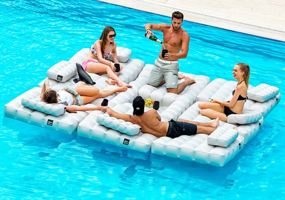 Pigro Felice Modul'Air Inflatable Sofa Set Fun Toys
