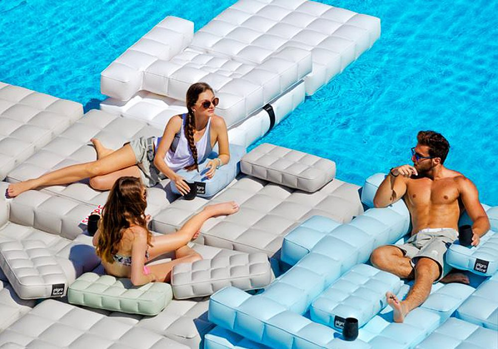 Pigro Felice Modul'Air Inflatable Sofa Set Gift Idea