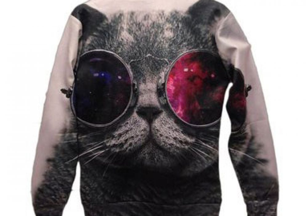 Pink Queen Sunglasses Cat Sweater Cool Stuff to Buy
