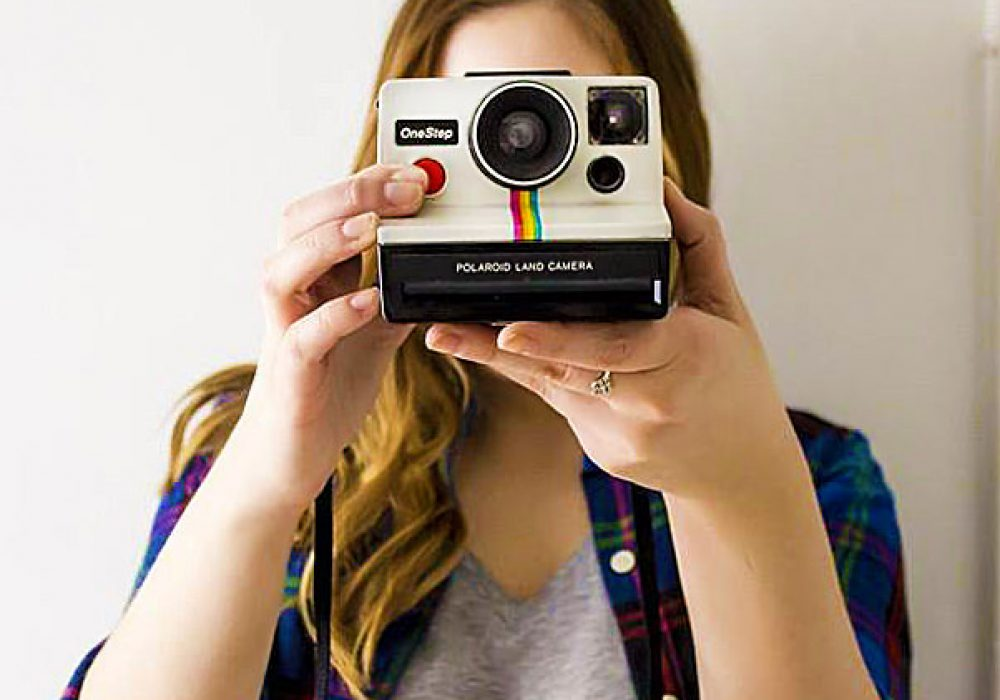 Polaroid OneStep SX-70 Camera Cool Hipster Retro Technology