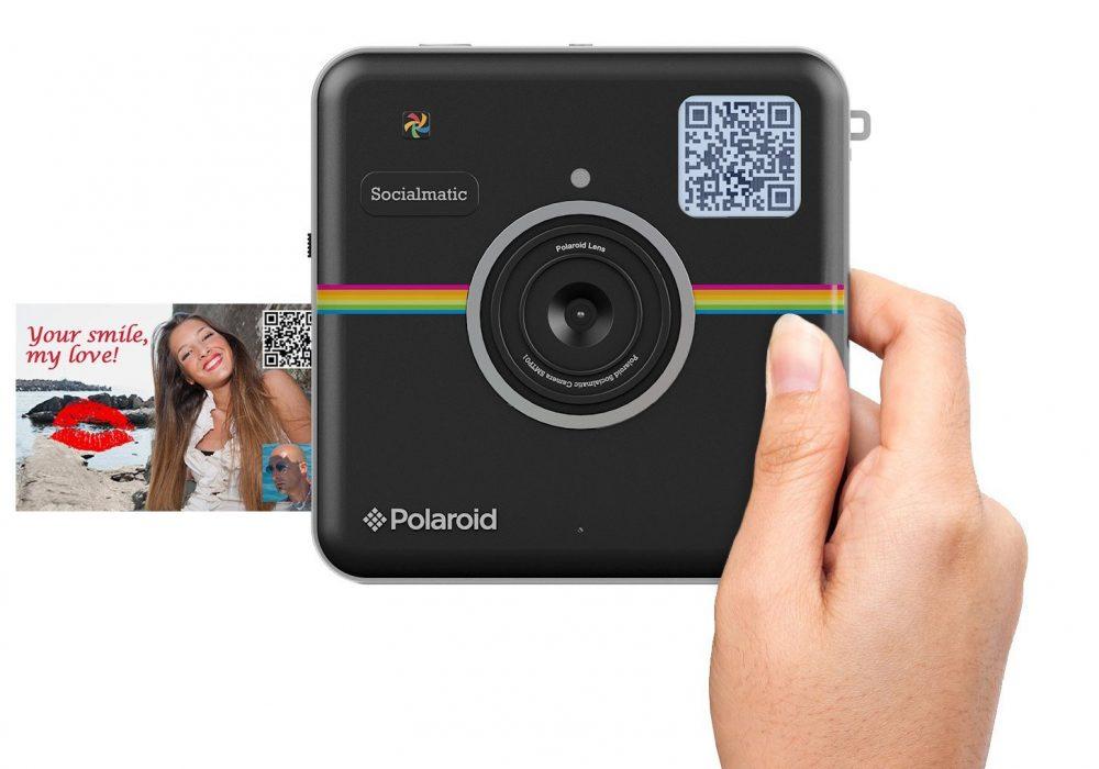 Polaroid Socialmatic Instant Digital Camera Black Cool Stuff to Buy