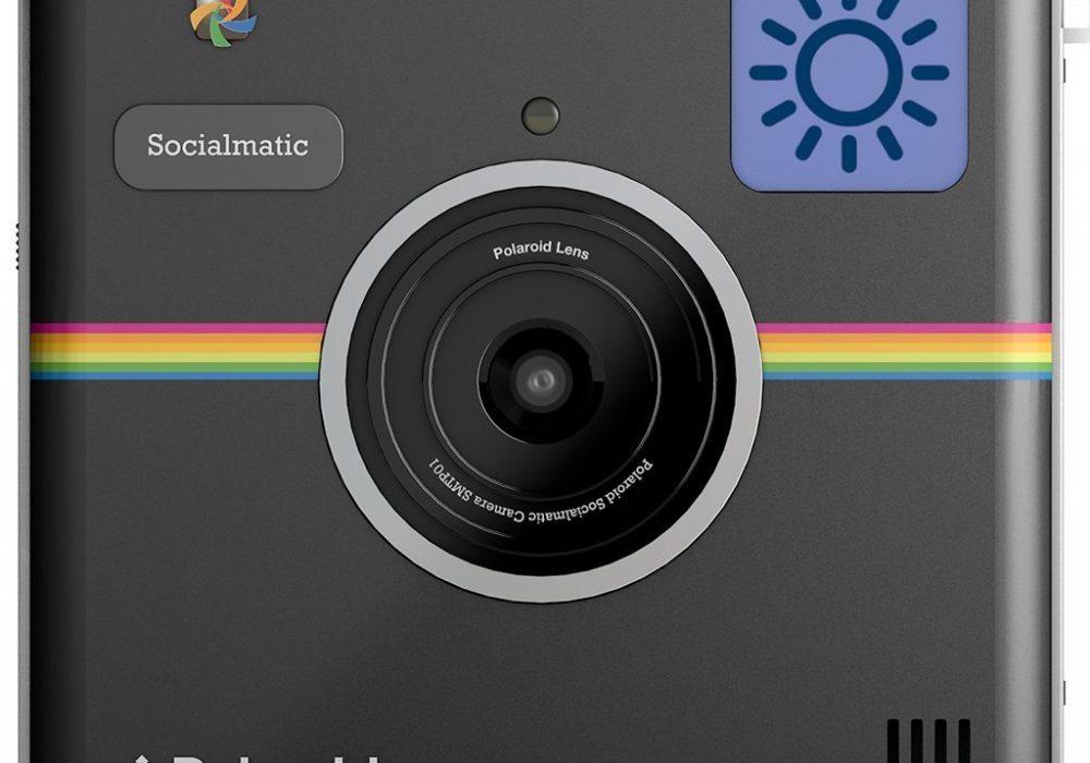 Polaroid Socialmatic Instant Digital Camera Retro Style