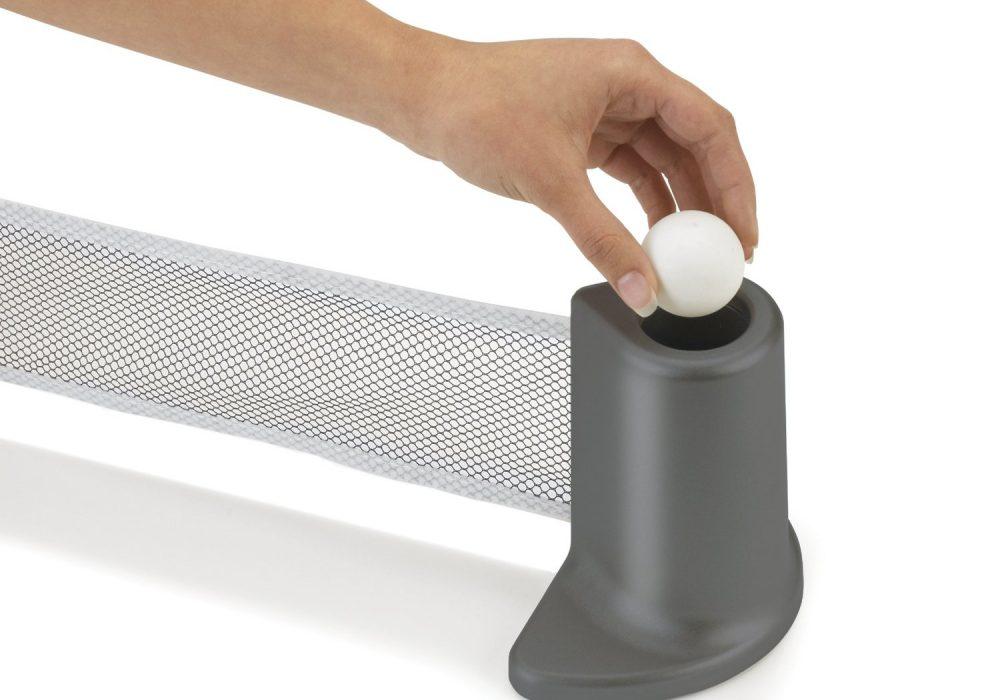 Pongo Portable Table Tennis Set Hidden Ping Pong Ball Slot
