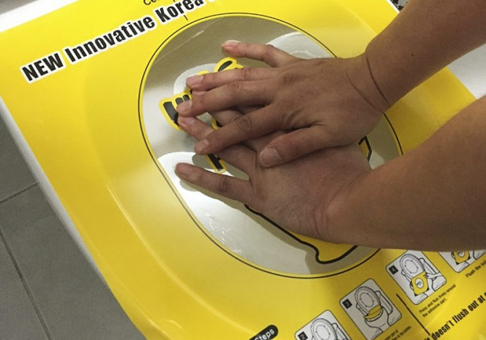 Pongtu Disposable Toilet Sticker Plunger Hygiene