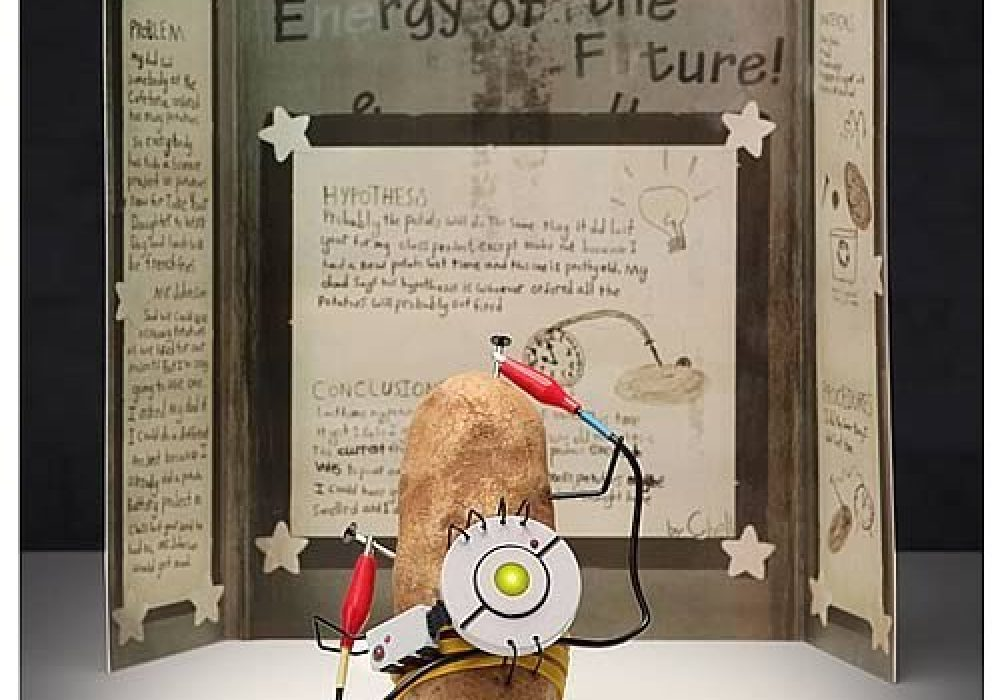 Portal 2 PotatOS Science Kit Diorama