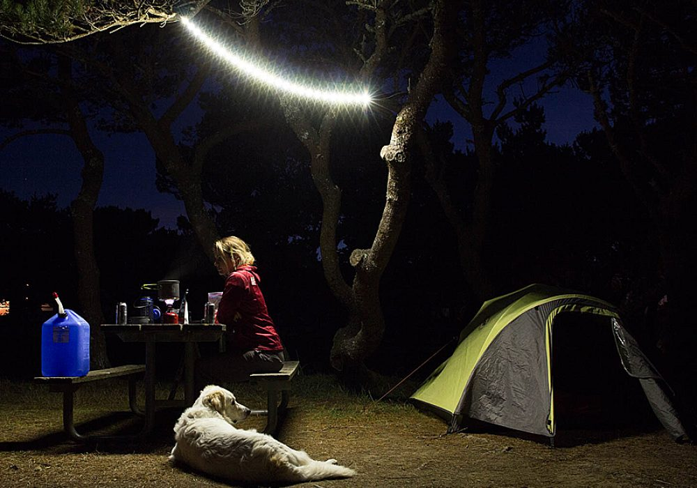 Power Practical Luminoodle Portable LED Light Rope and Lantern Nice Outdoor Lighting