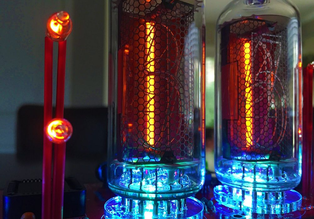 Pramanicin Outstanding IN18 Nixie Tube Clock Buy Expensive Steampunk Item
