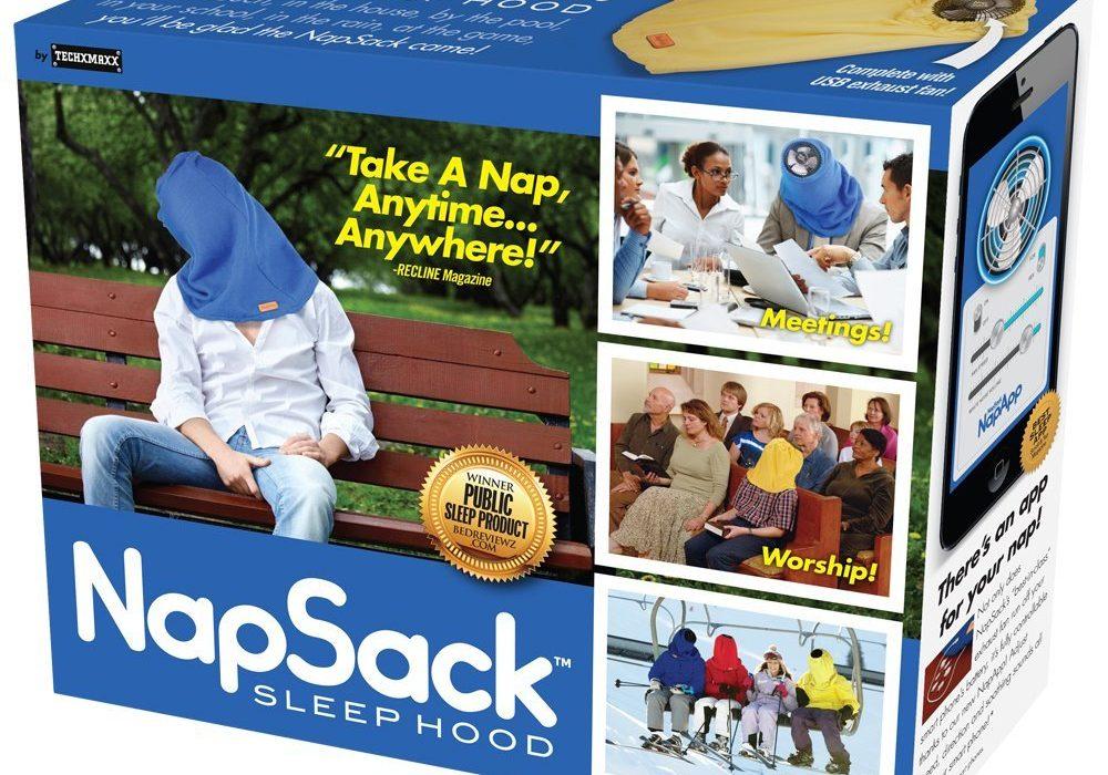 Prank Pack Nap Sack Sleep Hood Gift Box April Fools