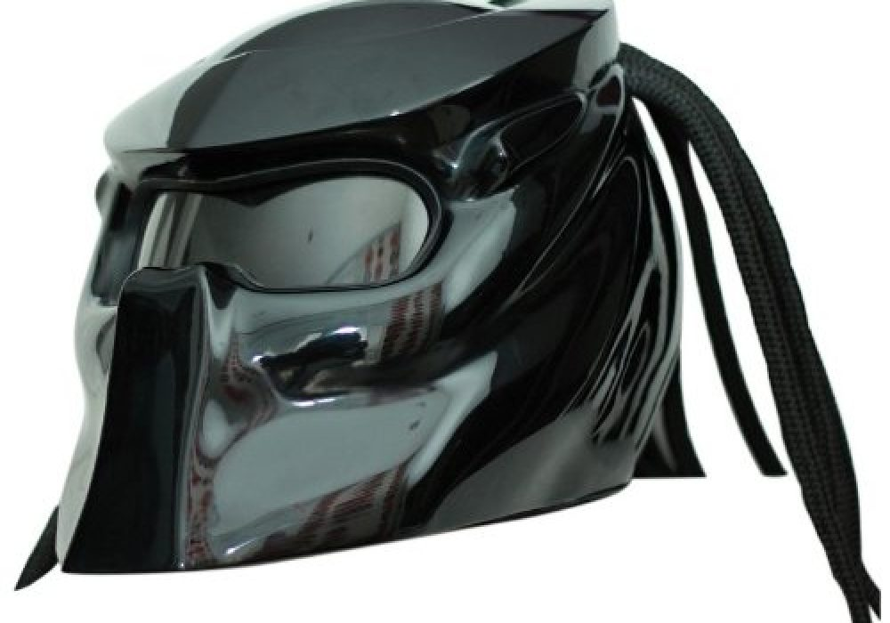 Predator Motorcycle Helmet X1 Black Sick Gear