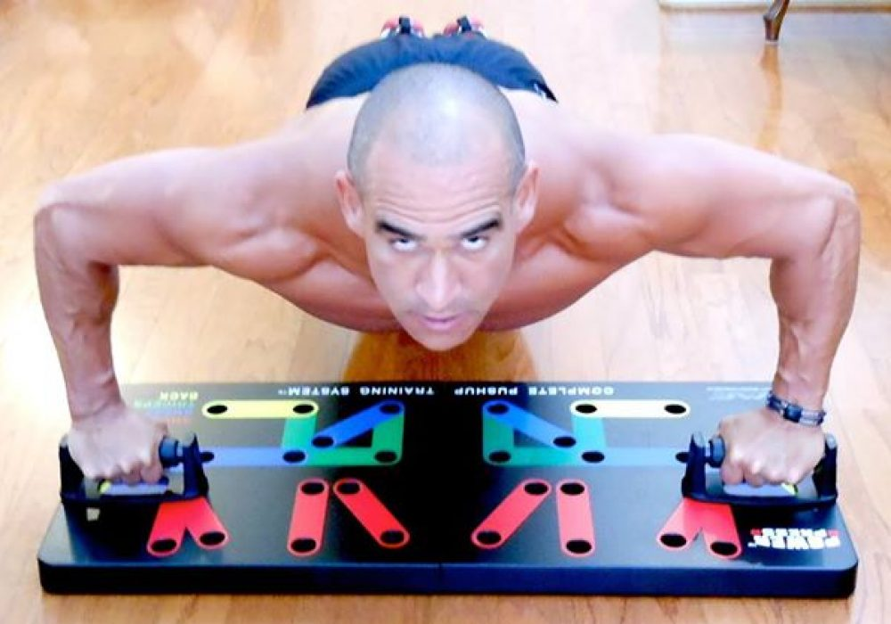 Press Push Up Build Your Upper Body