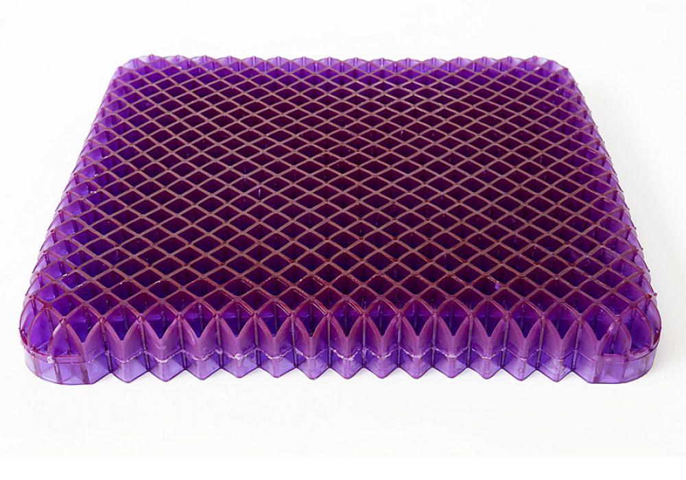 Purple Royal Purple No-Pressure Seat Cushion Cool Novelty Item