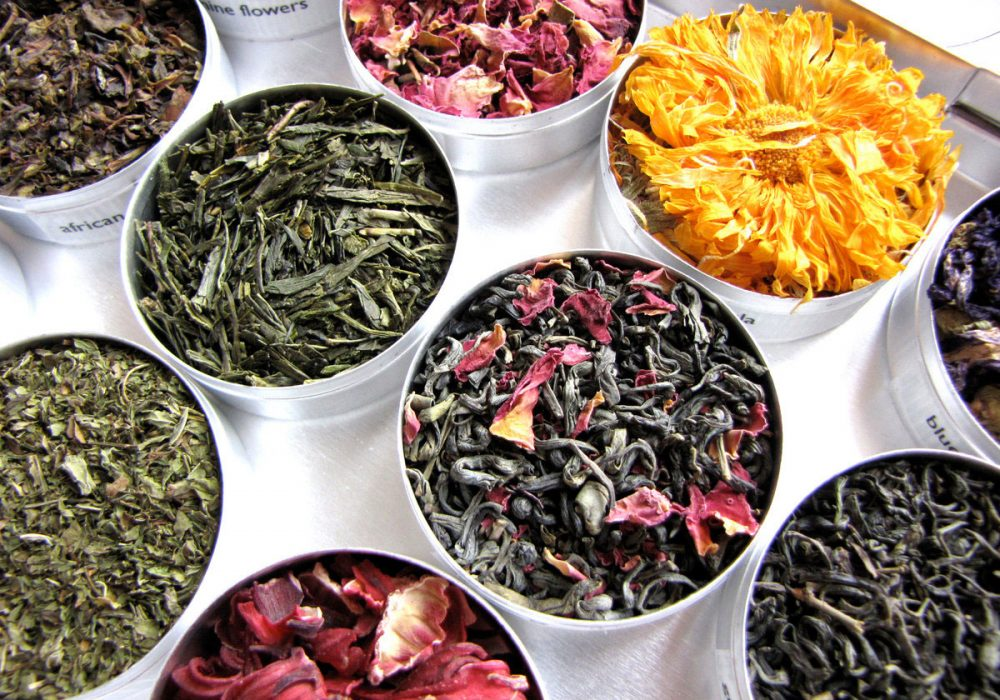 Purpose Design Herbal & Green Tea Set Unique Gift for Her