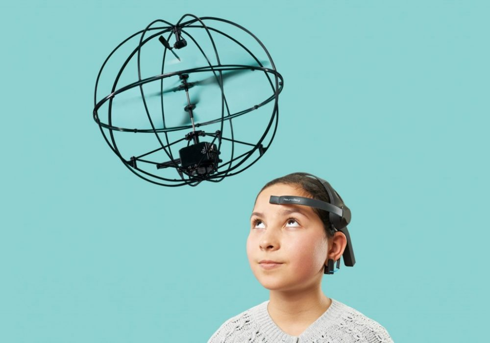 Puzlebox Orbit Mobile Edition Girl Telekinesis Toy Application Unique Gift Idea Control using Brainwaves