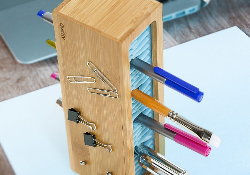 Quirky Writers Block Buy Cool Desk Organizer