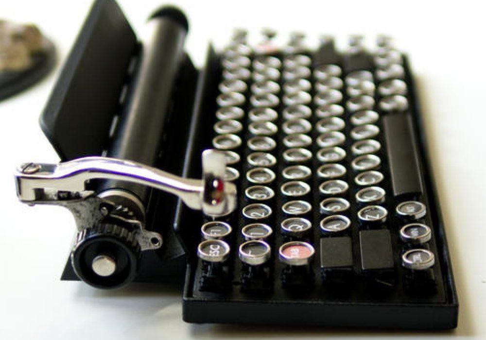 Qwerkywriter USB Keyboard - NoveltyStreet