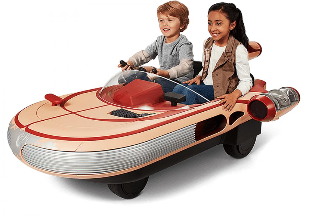 Radio Flyer Star Wars Land Speeder Rideable