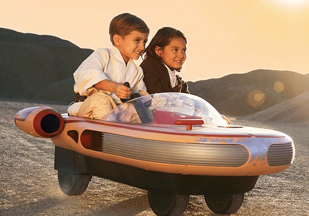 Radio Flyer Star Wars Land Speeder Toys