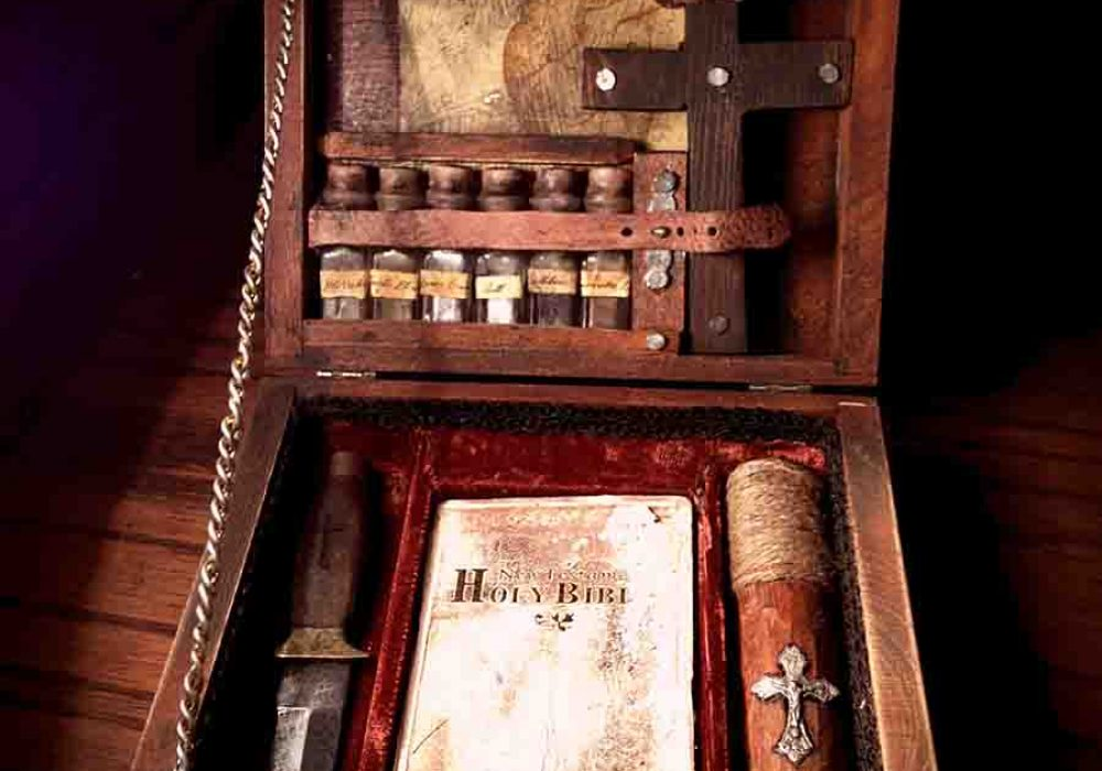 Rag N Bone Emporium Small Traveling Vampire Killing Kit handmade Product