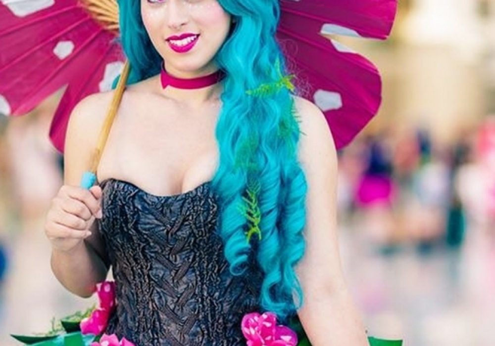 Rage Costumes Venusaur Ball Gown Custom Made for Measurements