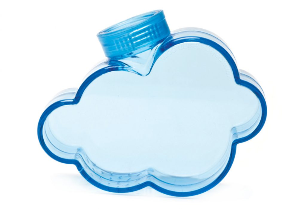 Rainmaker Plant Watering Cloud Cool Blue Plastic Design