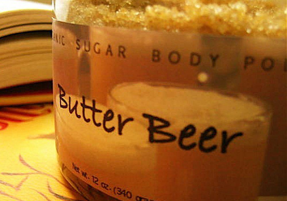 Raw Olive Butterbeer Organic Sugar Scrub Buy Handmade Bath Products