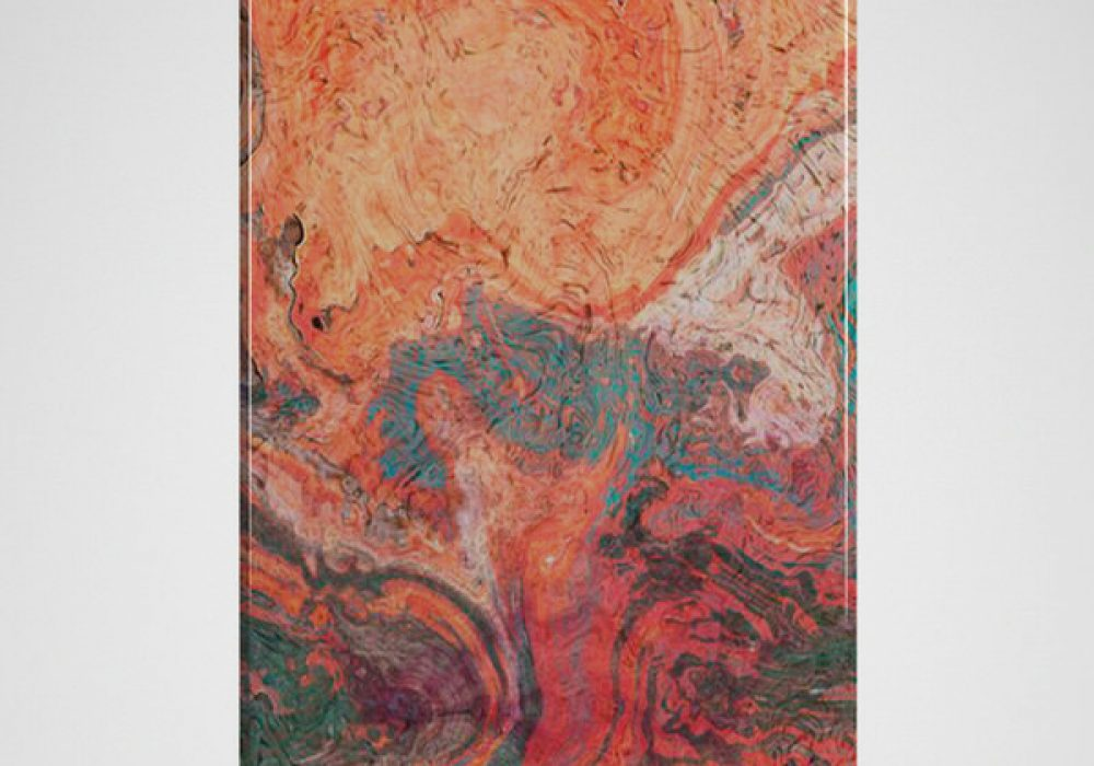 Red Marble iPhone Case Stone Style