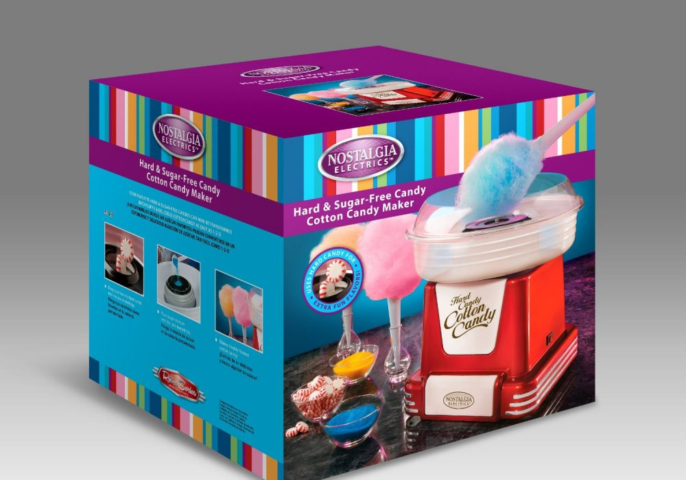 Retro Cotton Candy Maker  Box