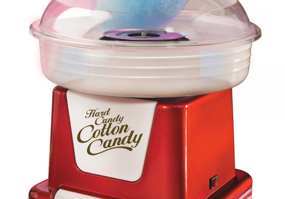 Retro Cotton Candy Maker  Classic Red