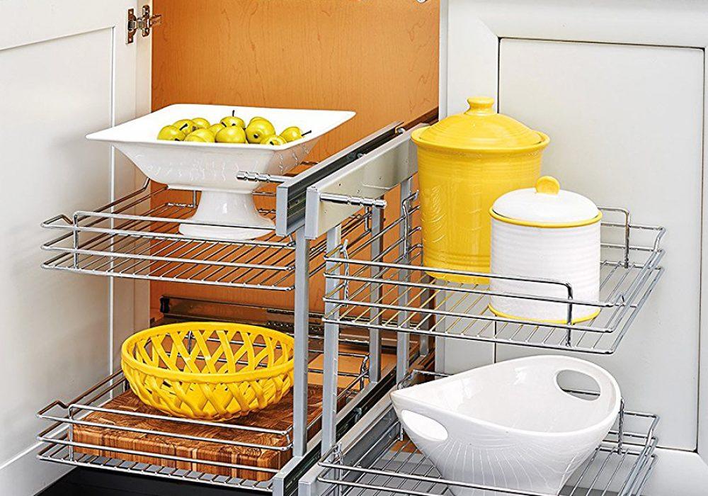 Rev-A-Shelf 5Psp Blind Corner Organizer Dish Rack