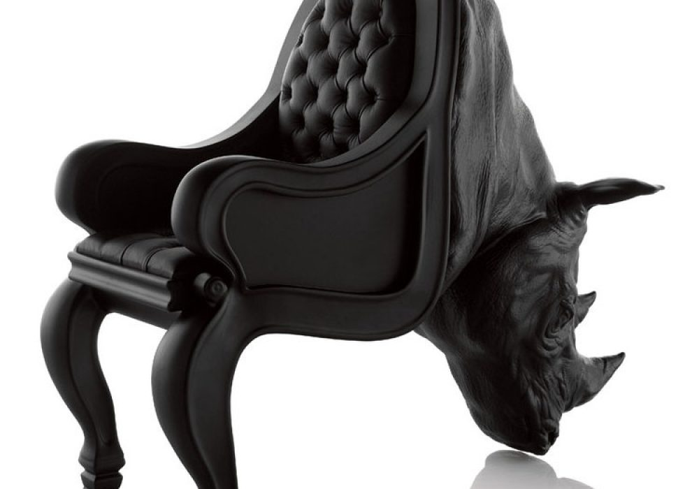 Rhino Animal Chair Luxurious Furniture
