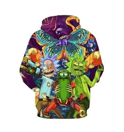 Men Hoodies Rick and Morty