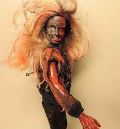 Road Rash Zarbie Doll
