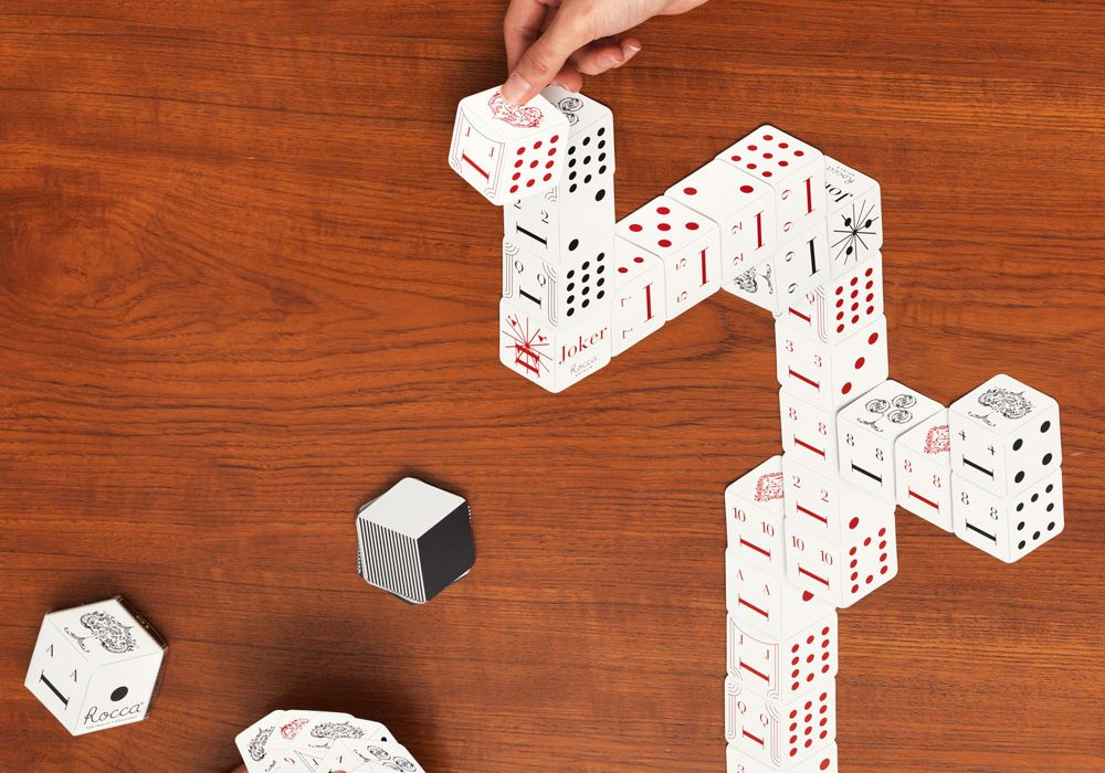 Rocca Spiele Card Tower Game Buy Cool Japanese Product