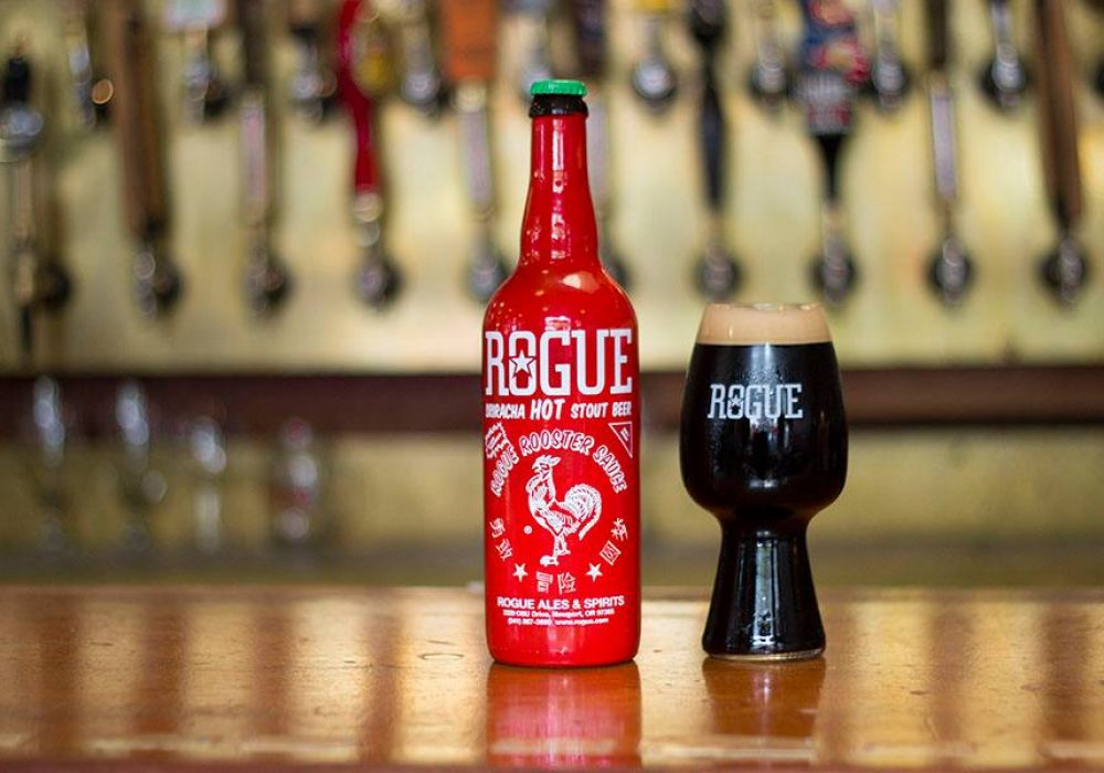 Rogue Ales Sriracha Hot Stout Spicy Beer Gift for Him
