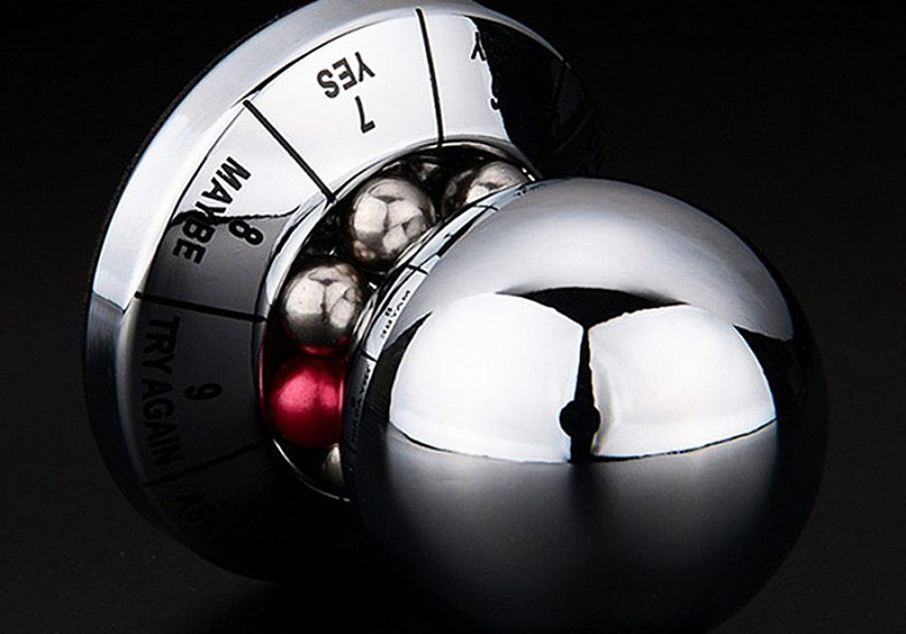 Rolling Ball Decision Maker Good for Exquisite Decor for Table