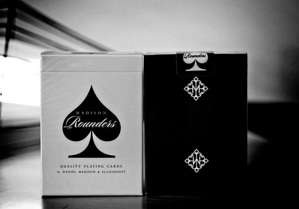 Rounders Playing Cards Deck Box Art