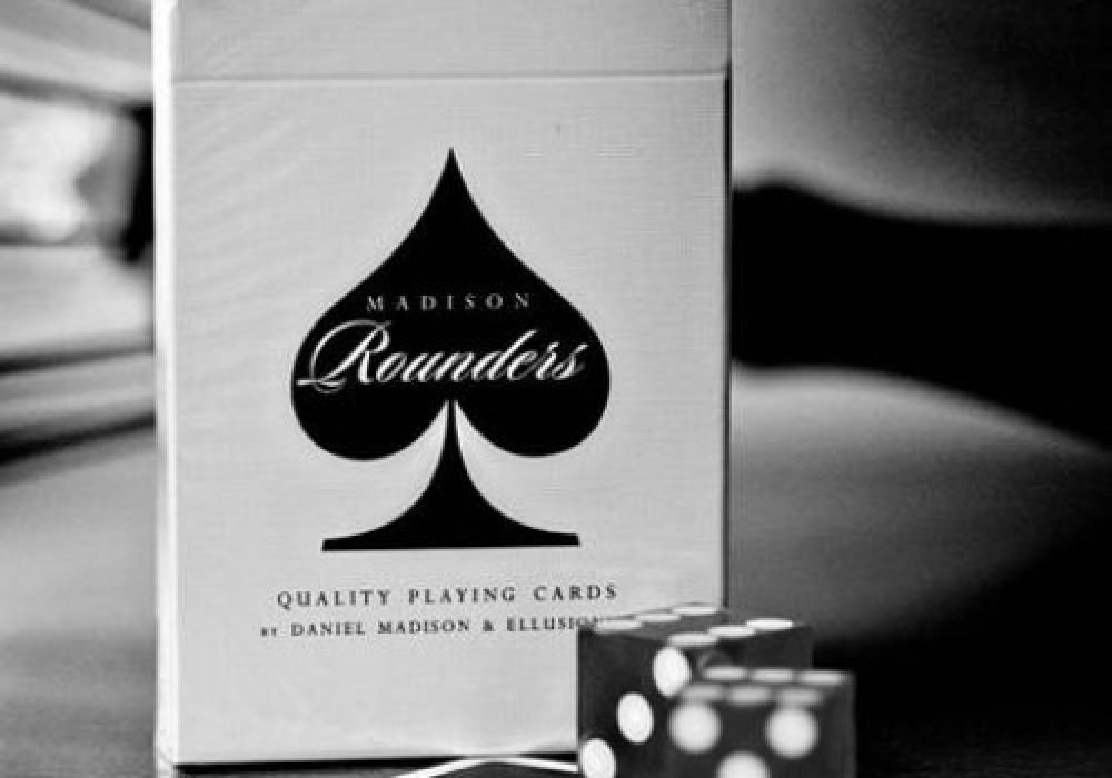 Rounders Playing Cards Deck by Daniel Madison Dice and Package