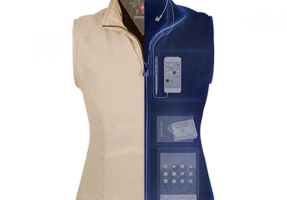 SCOTTeVEST Womens RFID Travel Vest Cool Gift Idea for Her