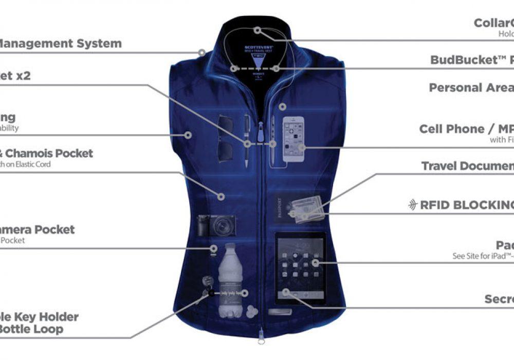 SCOTTeVEST Womens RFID Travel Vest Cool Stuff to Buy