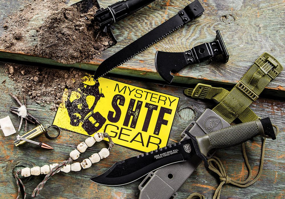 SHTF Mystery Gear Box Subscription Tactical Tool