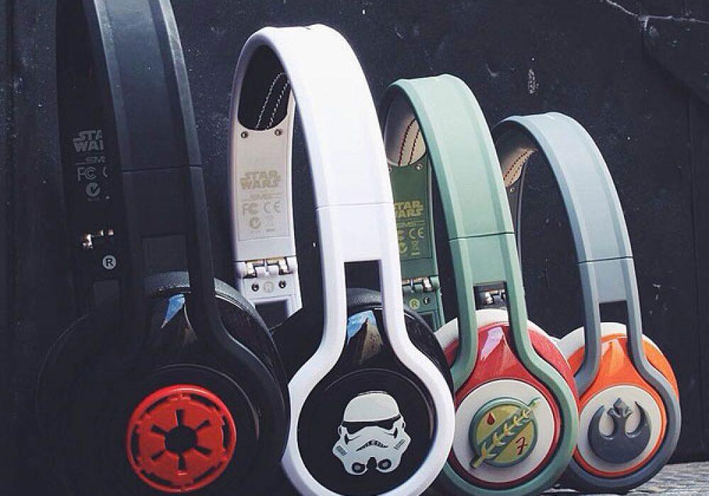 SMS Audio First Edition Star Wars Headphones Tech Gift Idea