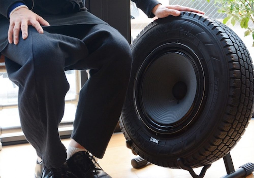 Seal Recycled Tires Speaker Recycled Tech