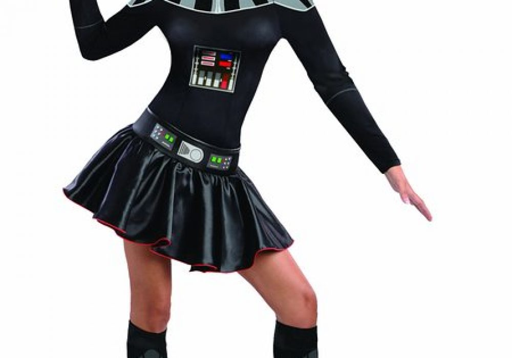Secret Wishes Star Wars Female Mini Skirt Costumes Darth Vader for Halloween