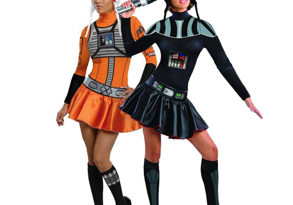 Secret Wishes Star Wars Female Mini Skirt Costumes Safe Sexy Halloween Wear