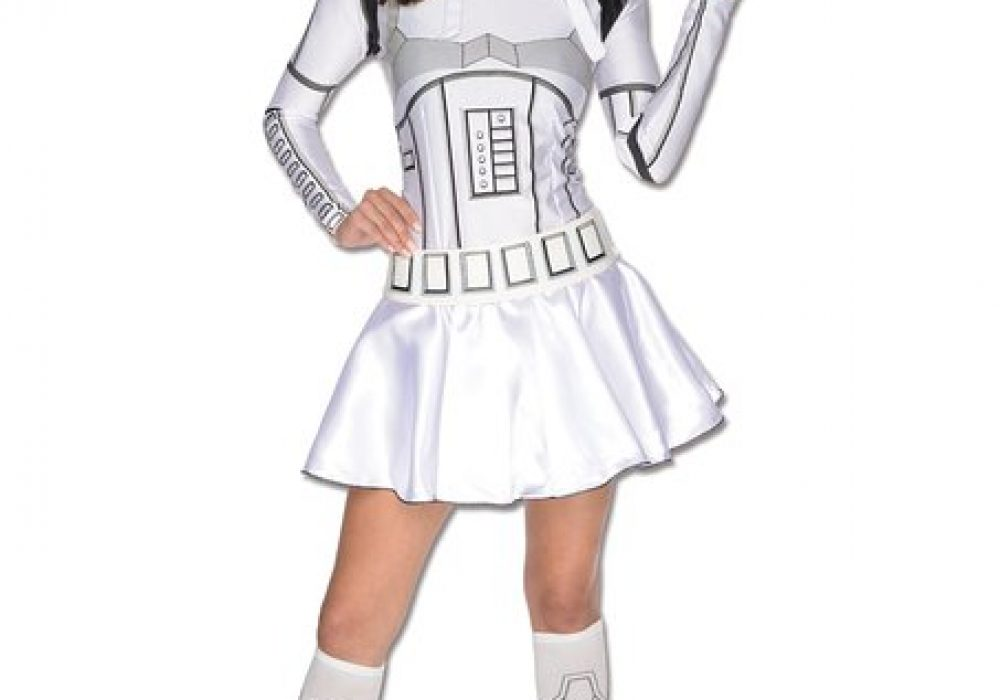 Secret Wishes Star Wars Female Mini Skirt Costumes Storm Trooper for Halloween