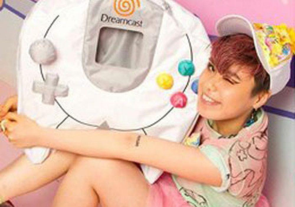 Segakawaii Dreamcast Controller Backpack Cool Gift Idea for Gamer Girl