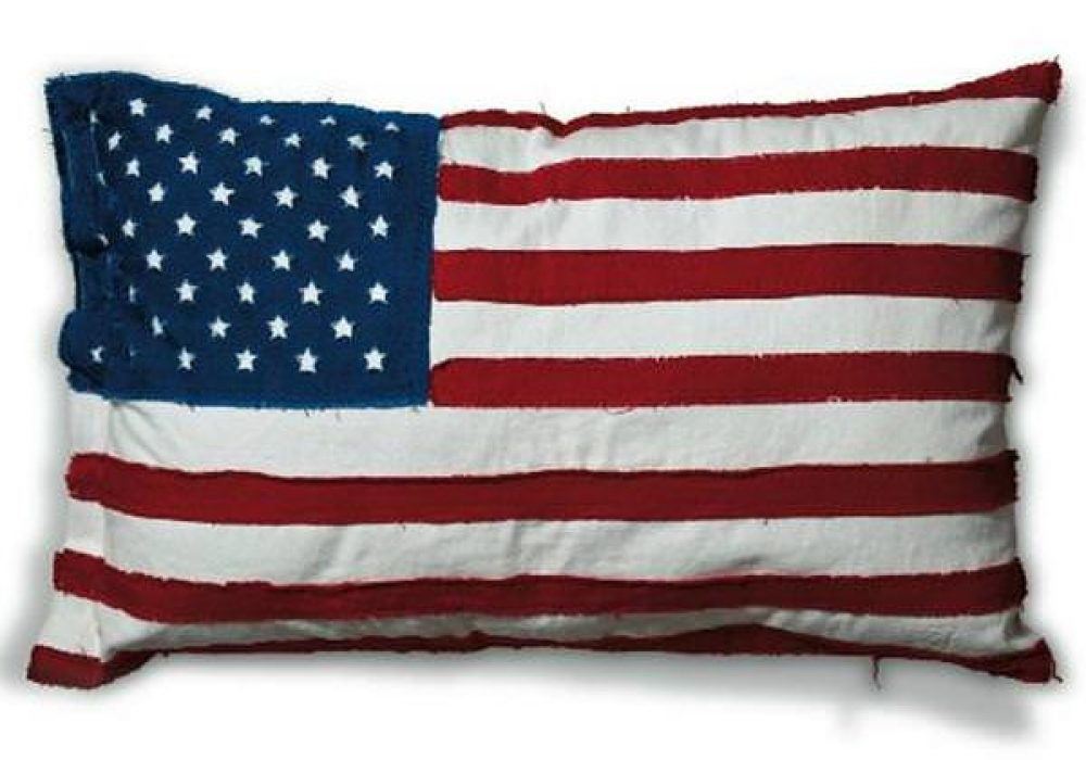 Seletti Flag Cushion Design USA