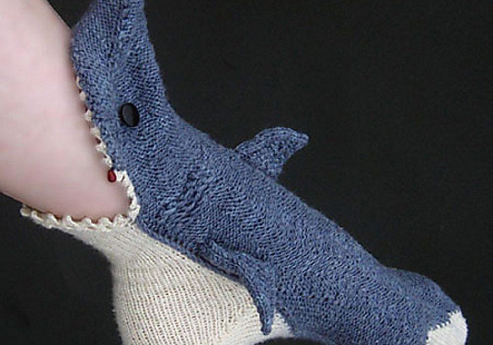Shark Week Socks by Tsarina of Tsocks Cool Stuff You Cant Buy