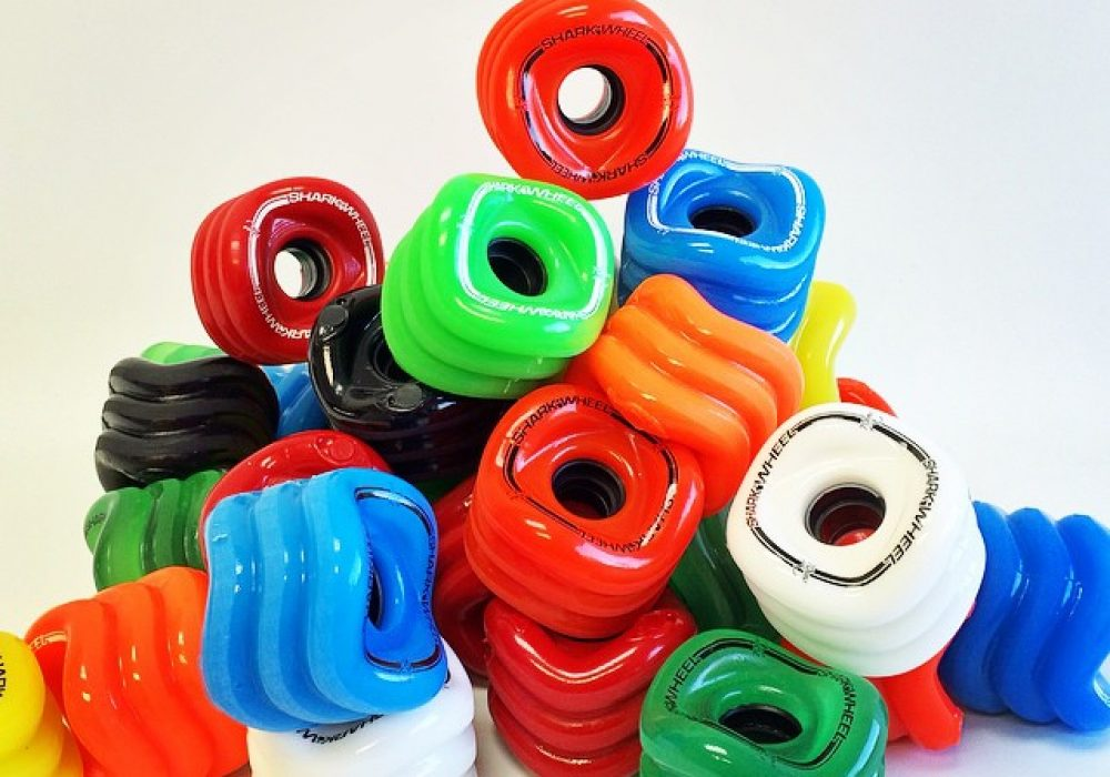 Shark Wheels Square Skateboard Wheels Different Colors