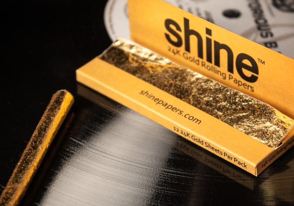 Shine 24k Rolling Paper Party Must Have